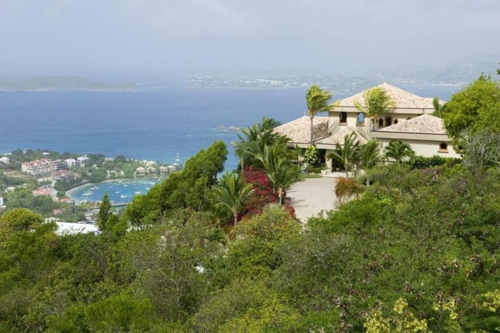 Hilltop Location with Surrounding Privacy and Views Overlooking Cruz Bay