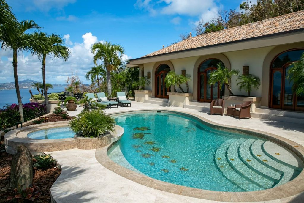 Poolside At Isla Vista, Your Luxury Home For Rent On St. John