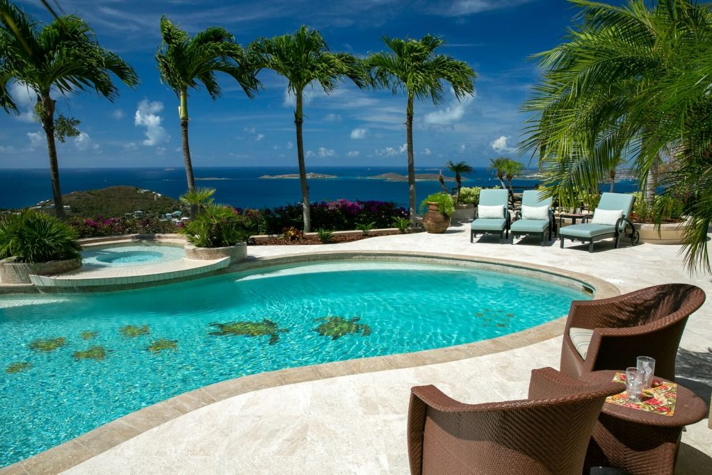 Poolside At Isla Vista, Your Luxury Vacation Home In St. John