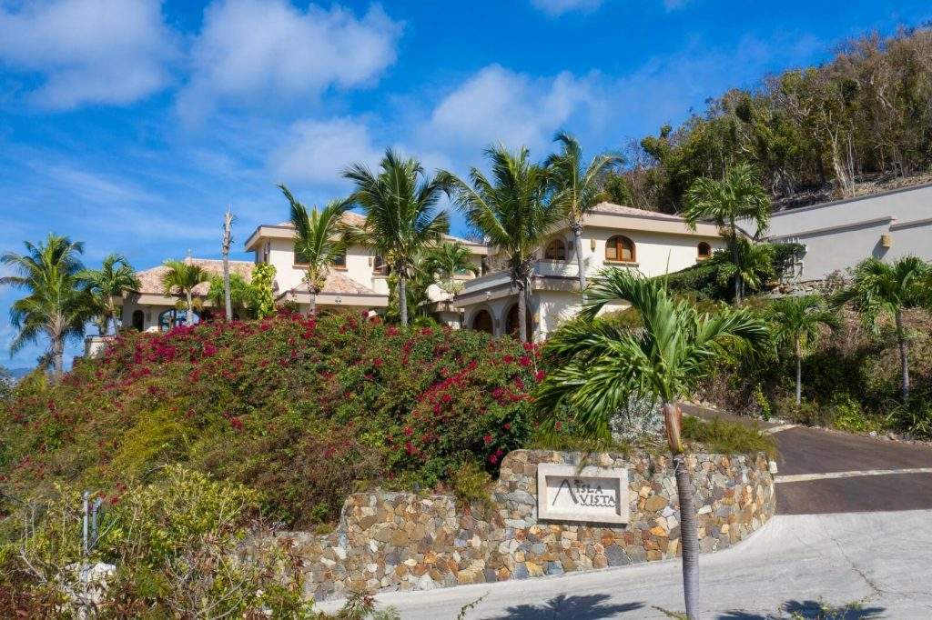 An Exterior View Of Isla Vista, Your Luxury Home For Rent On St. John