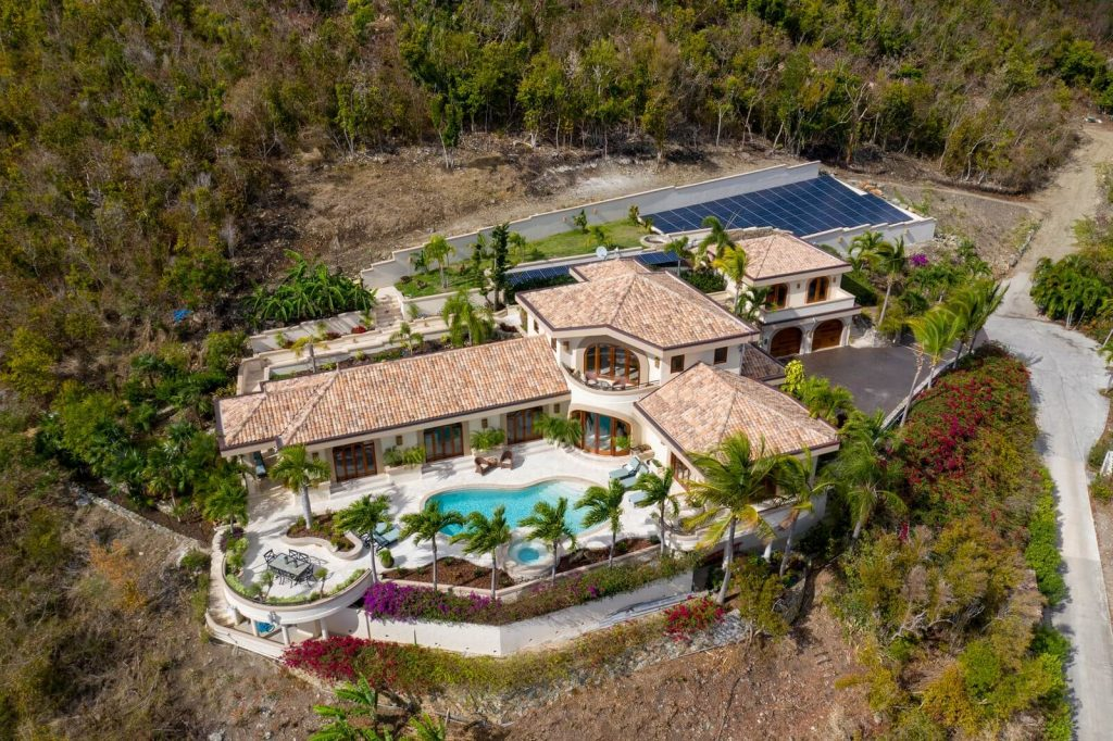 Private Hillside Location Has Fantastic Breezes and Dramatic Views