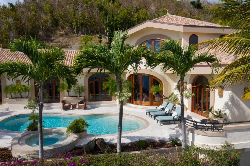 Outdoor View Of Isla Vista, Your Vacation Home For Rent On St. John